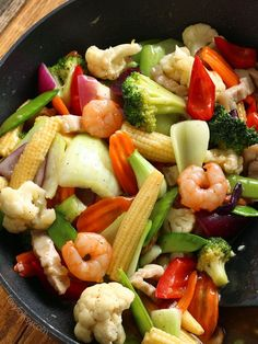Chop Suey recipe for an Easy stir-fry of colorful vegetables with thick sauce. A great vegetable dish for a dinner party or just for an everyday healthy meal. | www.foxyfolksy