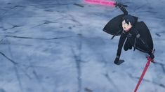 Kirito Sword, Accel World, Vampire Knight, Underworld, Sword Art Online, Anime, Gifs, Fairy, Animation