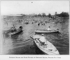 Orchard Beach, Bronx, New York ~1914