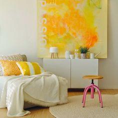 O amarelo na decoração de sua casa