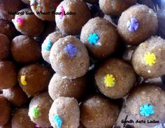 Gond and Whole Wheat Flour Ladoo