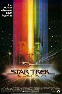 Star Trek movie poster. 1979.