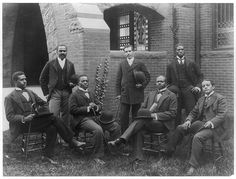 Howard University Class of 1900   African American Group Portraits by Black History Album, via Flickr