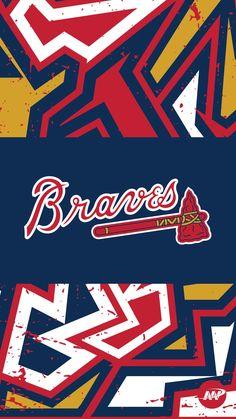 Brave Wallpaper, Atlanta Braves Logo, Baseball Pictures, Braves Baseball, Apple Wallpaper Iphone, Major League, Dali, New England Patriots, Manchester United
