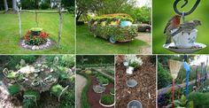 Garten aufpeppen: 19 inspirierende und kreative Tipps | CooleTipps.de