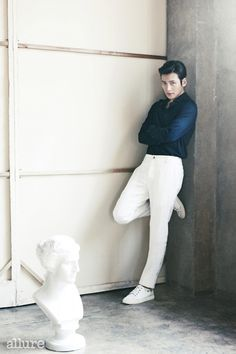 Ji Chang Wook Is Dashing In Modern Style For Allure Korea's May 2014 Issue | Couch Kimchi