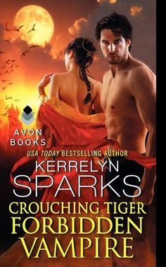 Crouching Tiger, Forbidden Vampire by Kerrelyn Sparks (Love at Stake #16)  This wonderfully twisted plot has inspired our imaginations and wow'd us with Sparks ability to tie it all together. This being the last book of this series, I especially enjoyed how all the characters are brought back into play for this the 16th book in this series.   http://tometender.blogspot.com/2014/12/crouching-tiger-forbidden-vampire-by.html