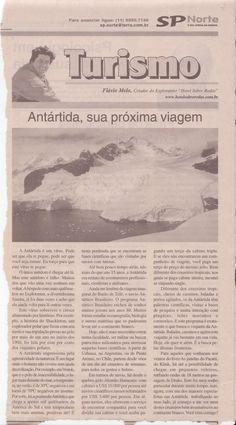 Artigo – Antártida, sua próxima viagem – publicado em 12 de abril de 2007