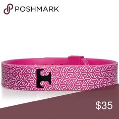 Tori Burch Fitbit bracelet✨ A very cool collaboration between Tori Burch and Fitbit!!! Transform your tracker into a chic accessory. Great for work, weekends, nights, you name it. Silicone printed bracelet featuring a graphic T pattern. Updated with a special keeper band for added security. Adjustable closure and secure easy access holder for device on the back. Color is navy multi. 💕more pics coming soon. Size m/l fits most. Gift box and drawstring TB bag included Tory Burch Jewelry…