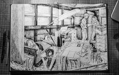 Сообщество иллюстраторов   Иллюстрация Light - Artist studio.