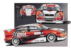 BMA Motorsports Skoda Octavia WRC livery
