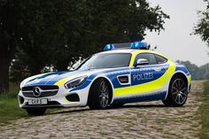 Mercedes Benz AMG GT Police Car