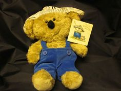 Plushie of the Day:  #BoomerangBear from #AmericanGreetings new with tags and a mere 99 cents on auction!