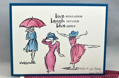 My Elegant Cards - Liz Bailey - Independent Stampin' Up! Demonstrator - Beautiful You - Blooms & Bliss DSP