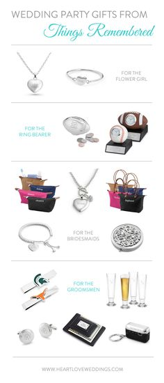 Wedding Party Gifts from Things Remembered