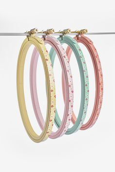 Pretty embroidery hoops