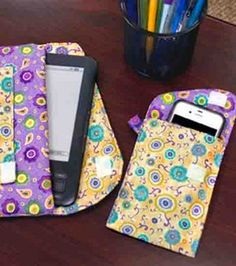 e-reader carrier and cell phone holder pdf from Joanns