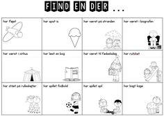 Find en der ... CL-øvelse første skoledag - Edu21.dk - Læring i det 21. århundrede