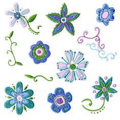 Embroidery Designs From Embroidables.com  Pretty pretty PRETTY!