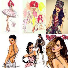 Rihanna by Hayden Williams  https://www.facebook.com/pages/Hayden-Williams-Illustrations/207352831618