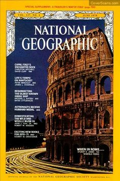 1970 - 06 - June / National Geographic Photography / Covers
