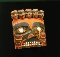 Tsimshian/Gitksan carving. Royal BC museum. @cargocultist
