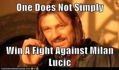 one does not!!