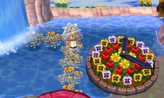 Crazy Glitch town in Animal Crossing: New Leaf - player was able to put public works in the water! Dream code 3000-0845-9227