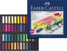 Faber Castell 128248 Creative Studio Creta Soft Pastel Fa…