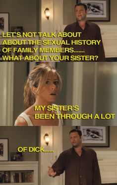 hahaha, i love this movie!  She's been through a lot…