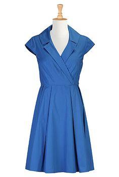 Plus Dresses , Fashions For Women Shop women's Full sleeve dresses - Sundress - Shop for Sundresses - Custom size and style to suit you - | eShakti.com