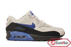 buy online 0eccd 721a2 Nike Air Max 90 Essential Black Old Royal Grey (537384-040) Air Max