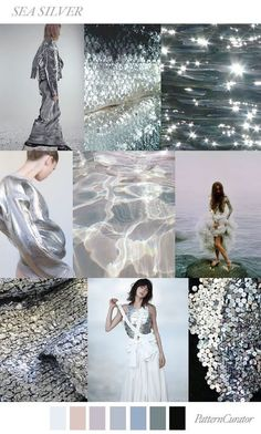 TRENDS // PATTERN CURATOR - SEA SILVER . SS 2018 (FASHION VIGNETTE) | Discover more unique looks on www.primpymag.com/ | #inspire #invent #primpystyle #primpytips