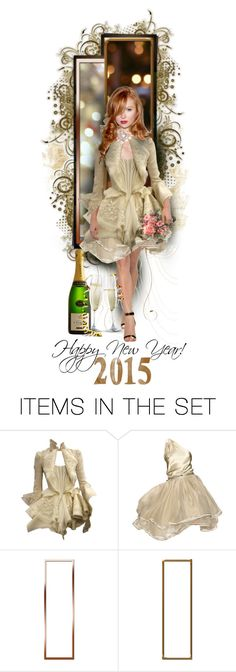 """""""Happy New Year"""" by raynefyre ❤ liked on Polyvore featuring art"""