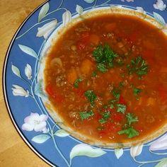 Gulasj-suppe Chana Masala, Salsa, Mexican, Ethnic Recipes, Food, Eten, Meals, Salsa Music, Diet