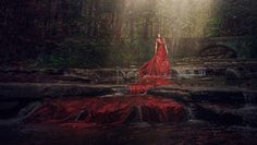https://flic.kr/p/pYrKrY | The River Ran Scarlet | I had the absolute pleasure and privilege of shooting with Aleah Michele! Check out my newest blog post to hear allllll about it! :)  www.robertcorneliusphotography.com/blog/sometimes-you-hav...