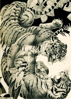 Dorothy Lathrop: The Story of a Tiger, 1936