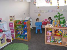 Kids Playroom Ideas Decorated with Attractive Furniture: Wonderful Kids Playroom Ideas With White Interior Design ~ warnhouse.com Kids Room ...