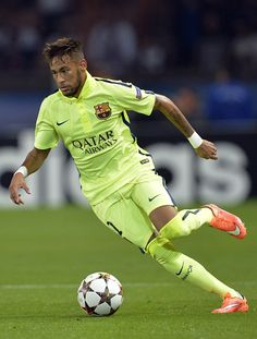 Neymar Jr for Barcelona Good Soccer Players, Best Football Players, Soccer Fans, Play Soccer, Football Soccer, Neymar Jr, Fc Barcelona, Ronaldo, Uefa Champions League