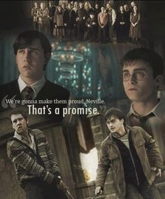 Harry Potter and Neville Longbottom - Quote from The Order of the Phoenix