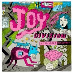 Joy Division ILLUSTRATION by Rikus Ferreira
