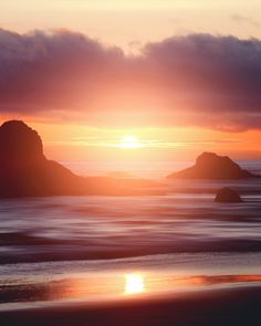 The Living... — La Push Sunset of the Quillayute River in Clallam County, Washington - USA Hd Photos, Nature Photos, Places To Travel, Places To Visit, Washington Usa, Closer To Nature, Sunrise, Around The Worlds, Adventure