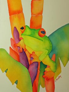 Watercolor on Paper by Tracee Murphy