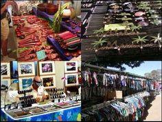 Vendors at the Lahaina Civic Center Craft Fair, Lahaina, Maui