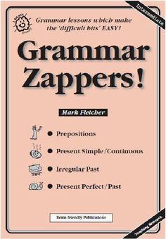 English Experience Press Grammar Zappers | Bookz Ebookz