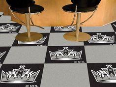 NHL - Los Angeles Kings Team Carpet Tiles