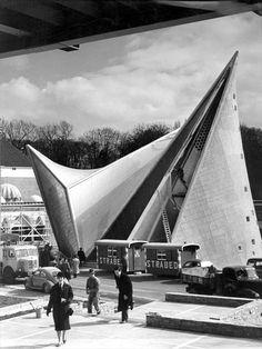 Fondation Le Corbusier - Buildings - Pavillon Philips, exposition internationale de 1958