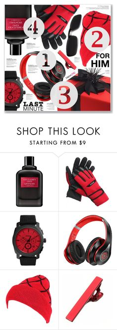 """""""NEWCHIC"""" by nanawidia ❤ liked on Polyvore featuring Givenchy, FOSSIL, men's fashion, menswear, polyvoreeditorial, menfashion, newchic and Holidaygifts"""