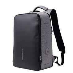 db3e75e4bdecf BISON DENIM Laptoprucksack Business Geschäft Rucksack mit USB Lade Port
