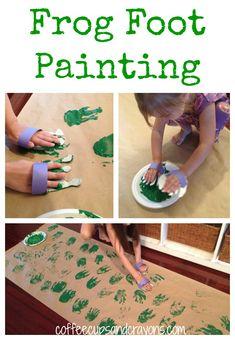 Big Art for Kids: Frog Foot Prints